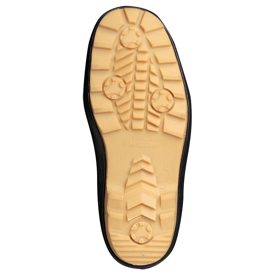防寒用インナー式安全長靴 ワークプラスブーツ MPB−810N ブルー