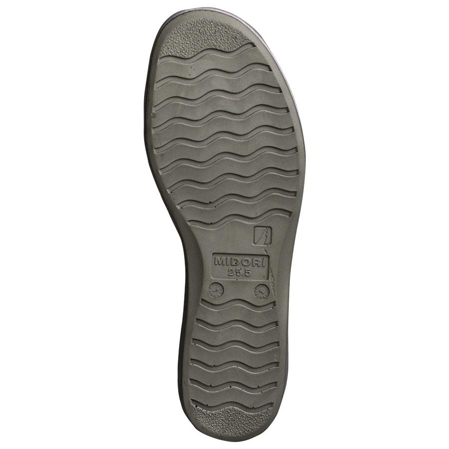 男女兼用 静電作業靴 エレパスクールライトN グレイ
