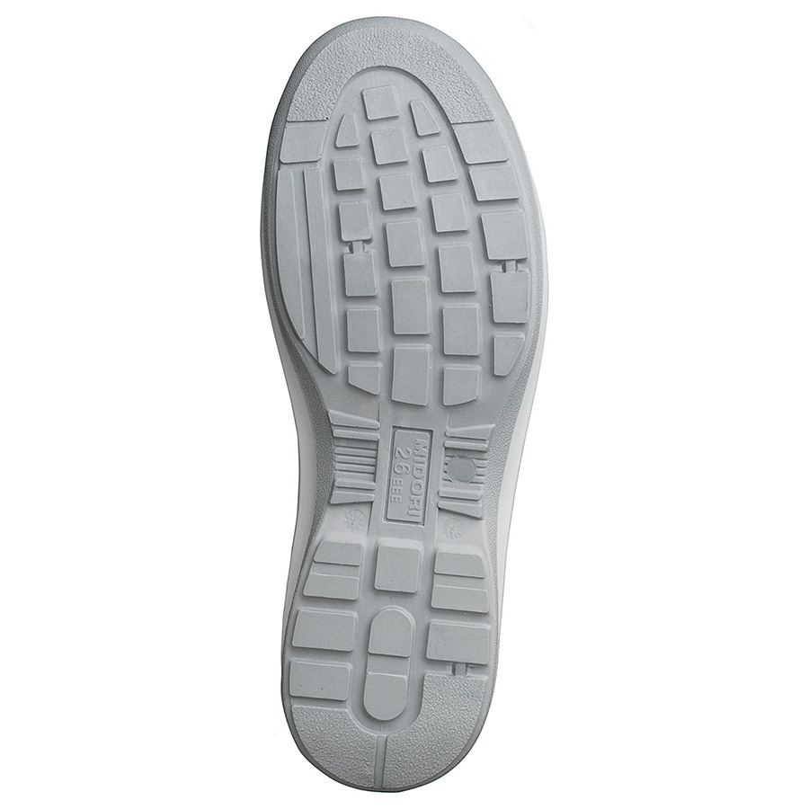 安全靴 G3590 (ひもタイプ) ホワイト 大