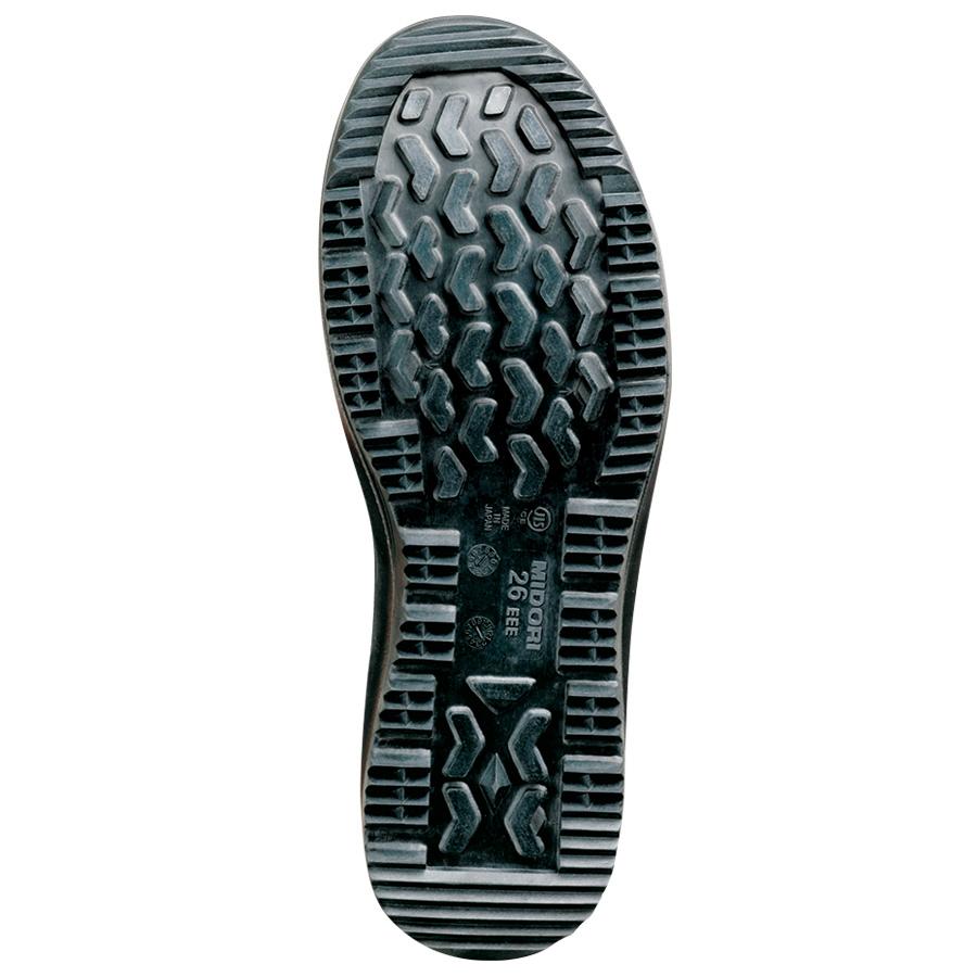 雪上でも滑りにくい耐滑安全靴 オールラウンダー ARD210 ブラック