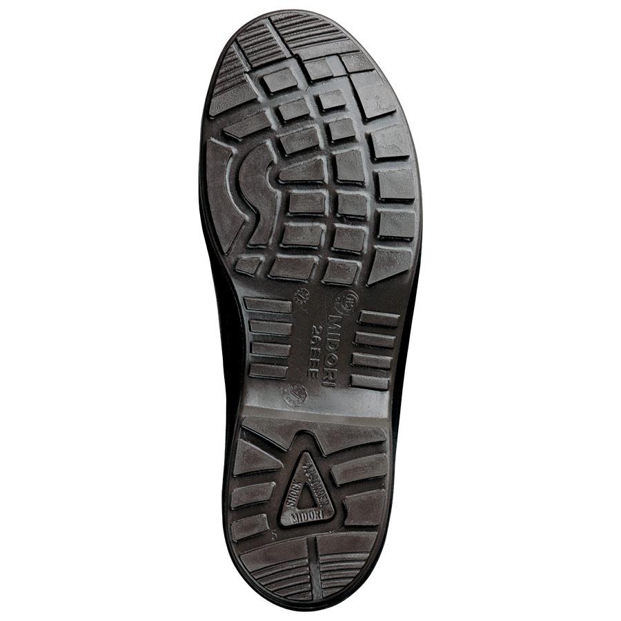 エコマーク認定 静電安全靴 エコスペック ES240 eco ブラック