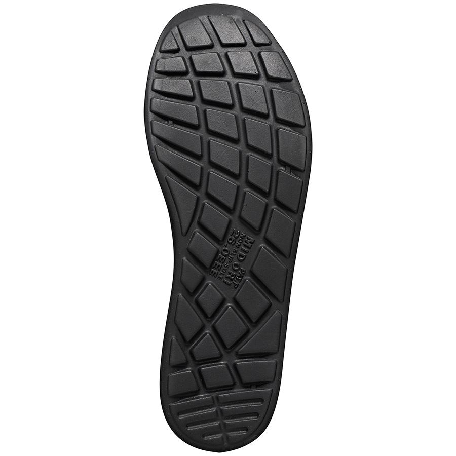 超軽量耐滑作業靴 ハイグリップ H−800 ブラック 大