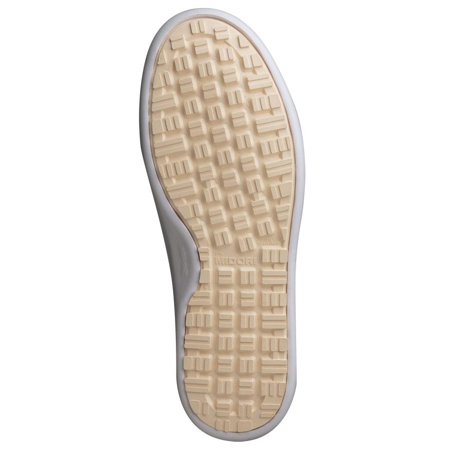 超耐滑軽量作業靴 ハイグリップ H−716N ホワイト 大