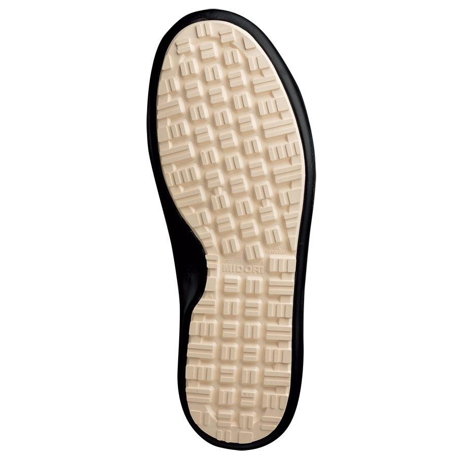 超耐滑軽量作業靴 ハイグリップ H−710N ブラック