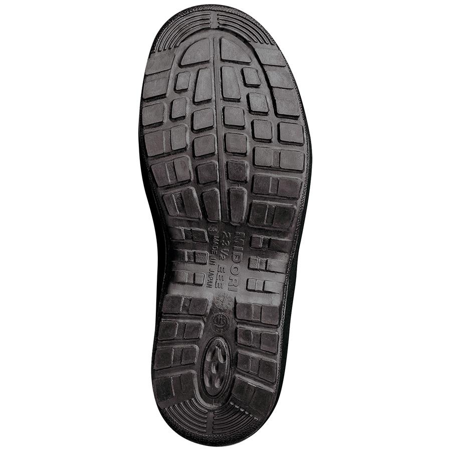 女性用 安全靴 ハイ・ベルデ コンフォート LCF440 ネイビー