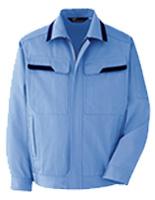 ベルデクセル コットン 綿100% ブルゾン VE392 上 ライトブルー