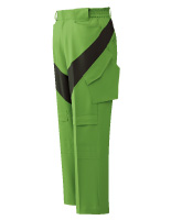 ベルデクセルフレックス コンポジットカーゴパンツ VE16C下 グリーン×モスグリーン