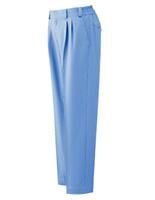 ベルデクセル イージーフレックスパンツ VE52 下 ライトブルー