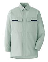 ベルデクセル コットン 綿100%シャツ VES2406 上 ライトグリーン