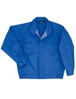 混紡 ペア長袖ブルゾン GS2348 上 ロイヤルブルー
