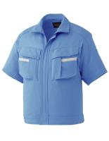 ベルデクセルフレックス 半袖ジャンパー VES33 上 ブルー