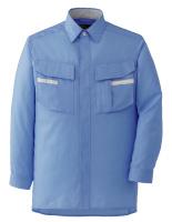 ベルデクセルフレックス 長袖シャツ VES243 上 ブルー