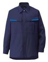 ベルデクセルフレックス 男女兼用 長袖シャツ VES267上 ネイビー