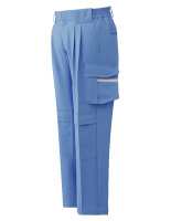 ベルデクセル イージーフレックスカーゴパンツ VES33C 下 ブルー