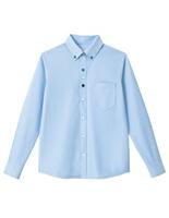 男女共用 長袖ニットシャツ HM−2418 6 空 4L・5L
