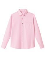 男女共用 長袖ニットシャツ HM−2418 9 さくら 4L・5L