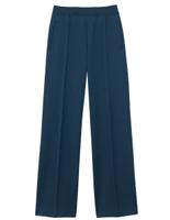 男女共用 ニットストレートパンツ HM−1545 2 ブルーベリー 4L・5L