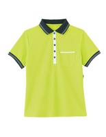 男女共用 ポロシャツ HM−2179 4 アップルグリーン 4L・5L