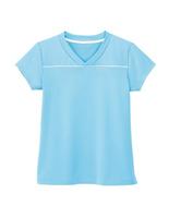 男女共用 VネックTシャツ HM−1589 6 ソーダ 4L・5L