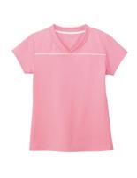 男女共用 VネックTシャツ HM−1589 9 ストロベリーピンク 4L・5L