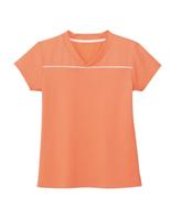 男女共用 VネックTシャツ HM−1589 14 マンゴーオレンジ 4L・5L