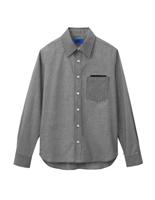ユニセックス 長袖シャツ 63390 ブラック