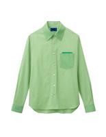 ユニセックス 長袖シャツ 63395 グリーン