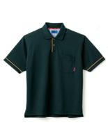 ユニセックス ポロシャツ 65040 ブラック