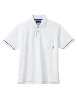 ユニセックス ポロシャツ 65048 ホワイト