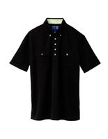 ユニセックス ポロシャツ 65240 ブラック