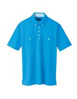 ユニセックス ポロシャツ 65242 ブルー
