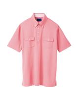 ユニセックス ポロシャツ 65246 ベビーピンク