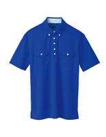 ユニセックス ポロシャツ 65251 コバルトブルー