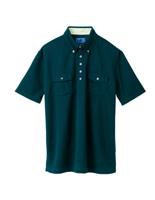 ユニセックス ポロシャツ 65255 フォレストグリーン