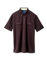 ユニセックス ポロシャツ 65257 チョコ