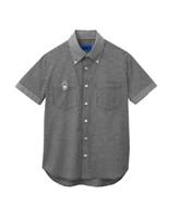 ユニセックス 半袖シャツ 63400 ブラック