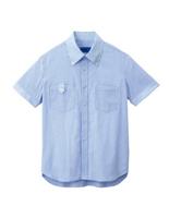 ユニセックス 半袖シャツ 63402 サックス