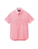 ユニセックス 半袖シャツ 63406 ピンク