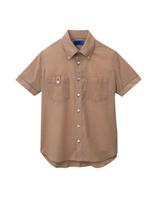 ユニセックス 半袖シャツ 63407 ブラウン