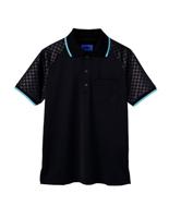ユニセックス ポロシャツ 65350 ブラック