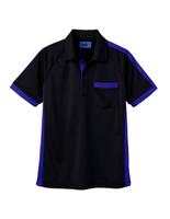 ユニセックス ポロシャツ 65360 ブラック