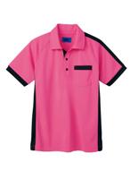ユニセックス ポロシャツ 65366 ピンク