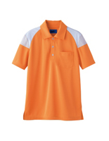 ユニセックス ポロシャツ 65374 アプリコット SS〜3L