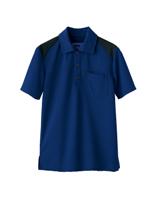 ユニセックス ポロシャツ 65401 ネイビー SS〜3L