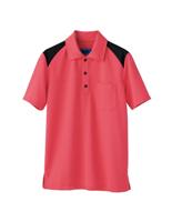 ユニセックス ポロシャツ 65406 ピンク SS〜3L