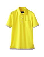 ユニセックス ポロシャツ 65424 イエロー 4L