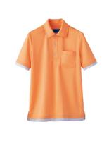 ユニセックス ポロシャツ 65427 オレンジ SS〜3L