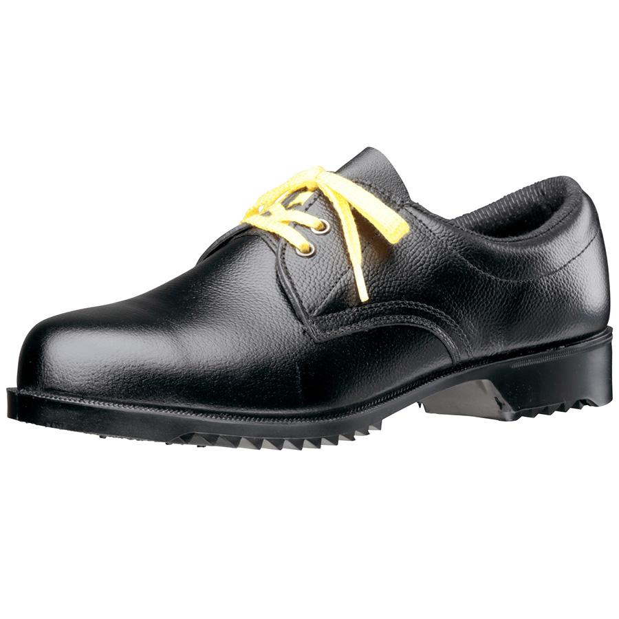 静電安全靴 V251N 耐滑 静電 ブラック