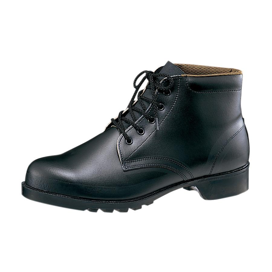 耐油・耐薬仕様ゴム底安全靴 V262NT ブラック