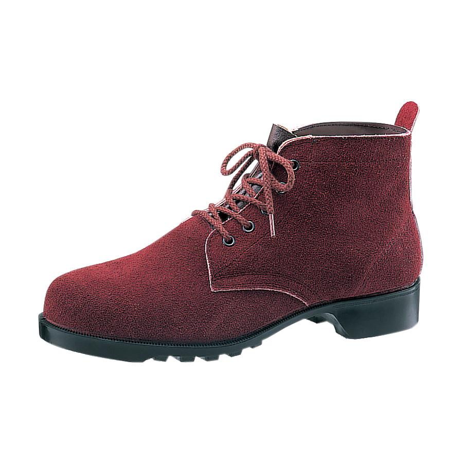 熱場作業用安全靴 V362 ブラウン